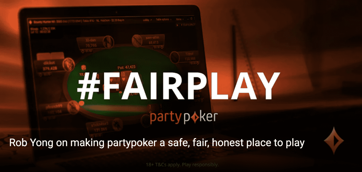 Rob Yong on Recent Changes for Fair Play at partypoker