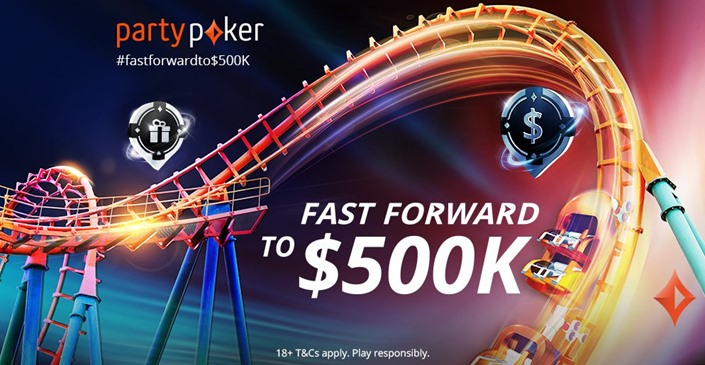 Fastforward your way to $500,0000 at partypoker this September