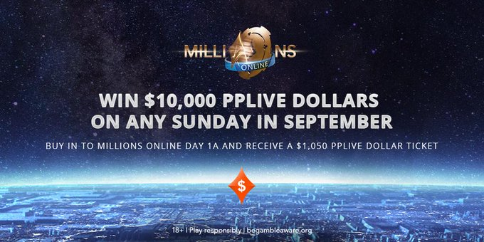 Win $10,000 PP LIVE Dollars in partypoker