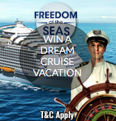 WIN A DREAM CRUISE VACATION