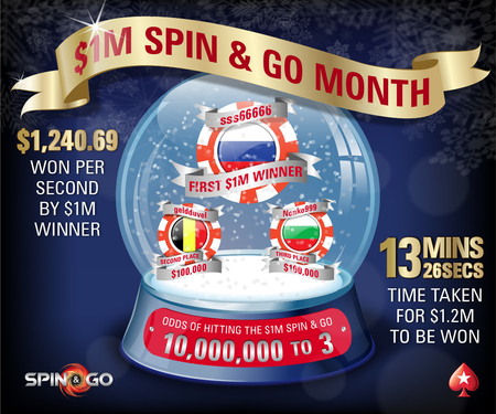 Two More $1M Spin & Go Winners Have Been Crowned