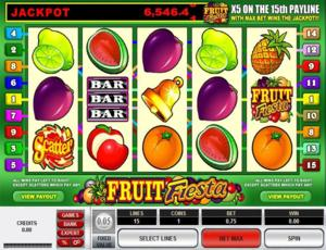Fruit Fiesta 5-Reel Slots