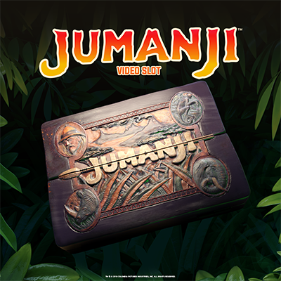 New Video Slot: Jumanji™ (NetEnt)