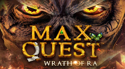 Max Quest: Wrath of Ra - the first ever Multiplayer Online Video Slot by Betsoft