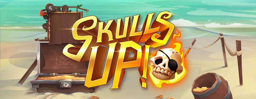 New Video Slot: Skulls Up! (Quickspin)