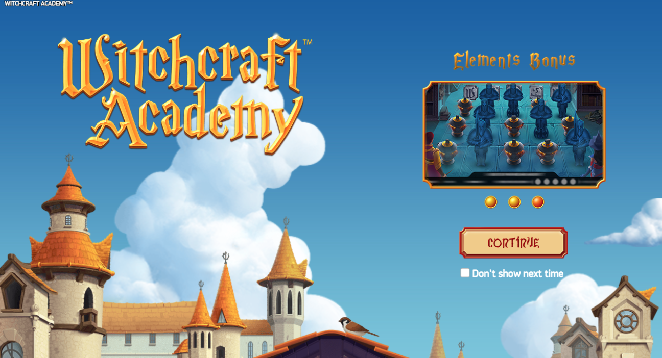 New NetEnt Game: Witchcraft Academy