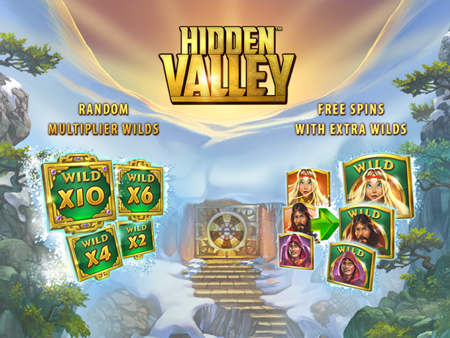 New Video Slot: Hidden Valley (Quickspin)