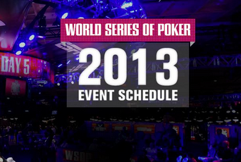 world poker tour schedule 2013