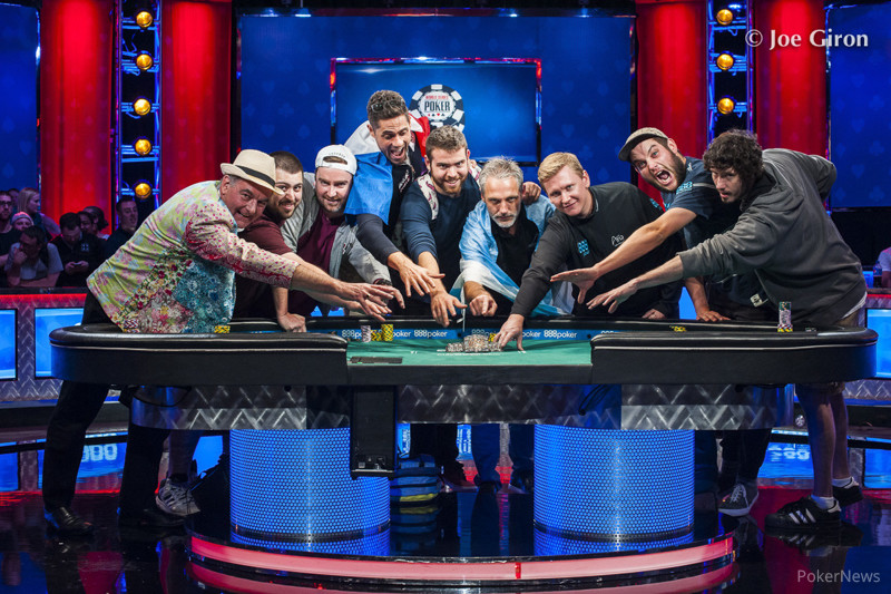 2017 WSOP Main Event: FINAL TABLE IS SET!
