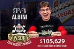 2018 WSOP: Event #31: $1,500 Seven Card Stud won by Steven Albini for $105,629