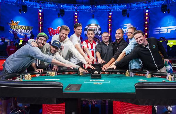 2014 WSOP Main Event: The Final Table Is Set! Players From Six Nations!