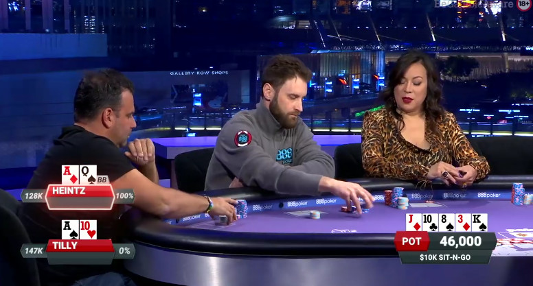 what are the prop bets on poker after dark