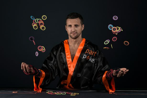partypoker High Roller event won by Retired Champ Boxer Carl Froch