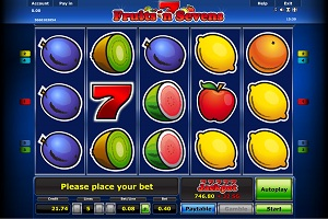 fruits n sevens casino