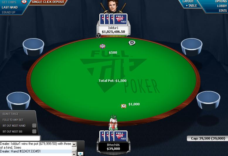 Full tilt poker bankroll pass