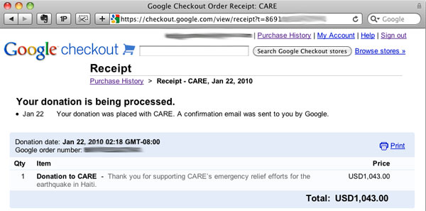 BankrollMob Haity charity donation