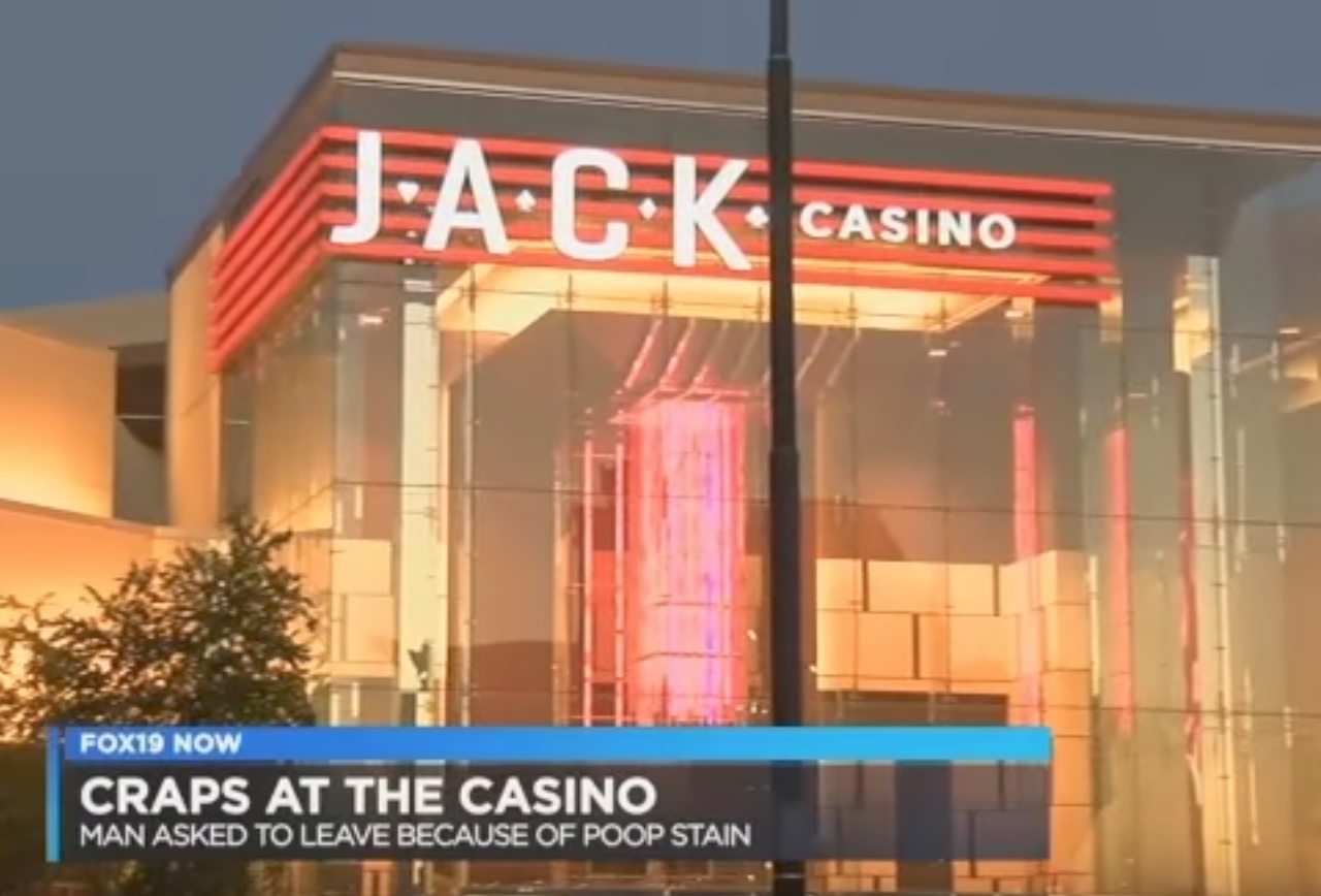 Man allegedly 'craps' and gets thrown out of casino
