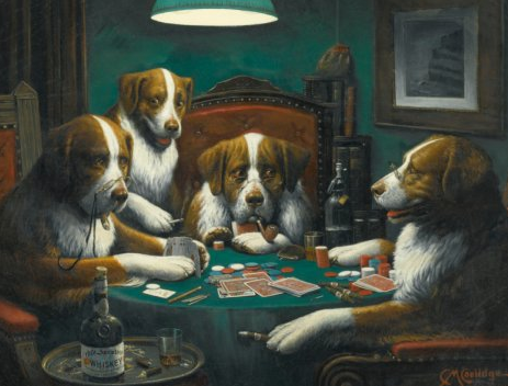 """Poker Game"" Sold For $658,000!"