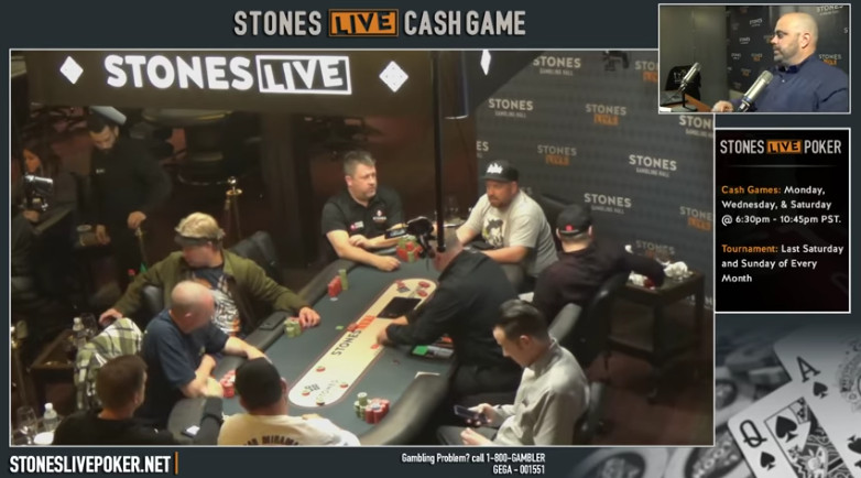 Poker Player Accused Of Cheating At Stones Livestreamed Cash Games