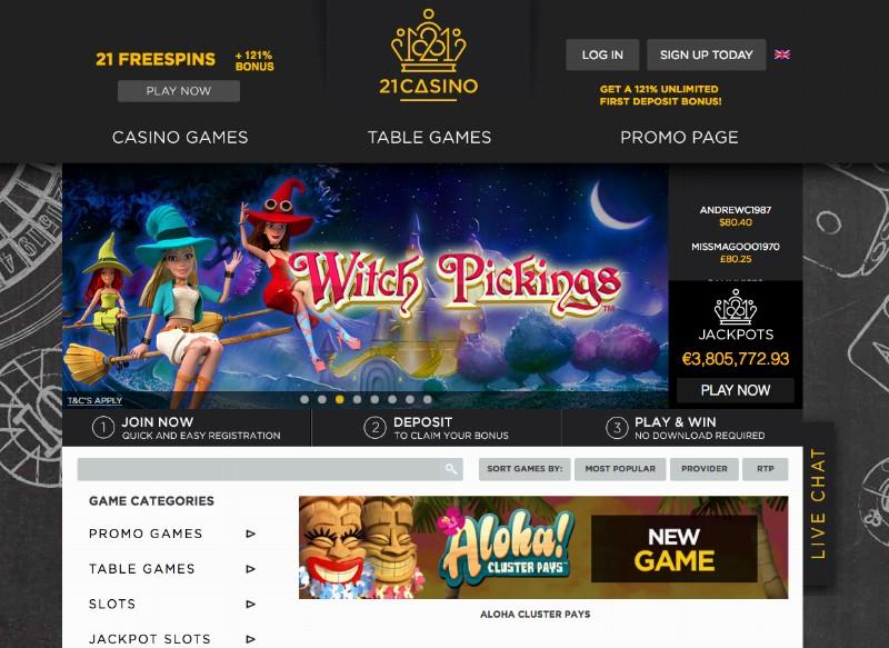 21 casino x com