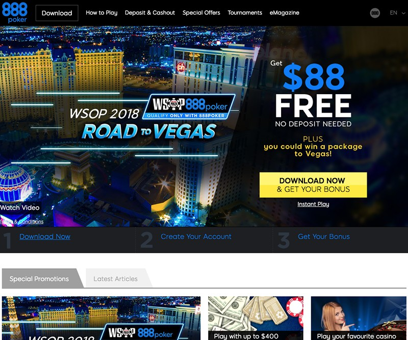 888 poker promotion code existing customer 2017