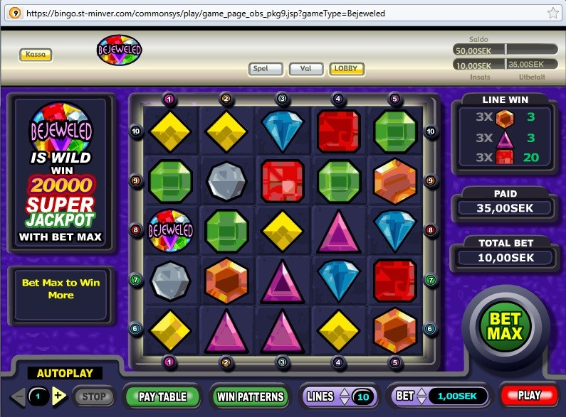slots online gambling europe entertainment ltd