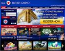 AllBritishCasino website