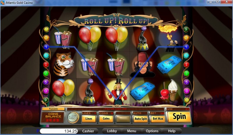 atlantis gold slots games