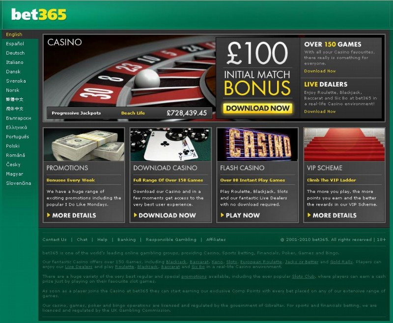 bet365 bonus 100 casino