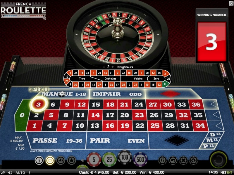 Low stakes roulette casino