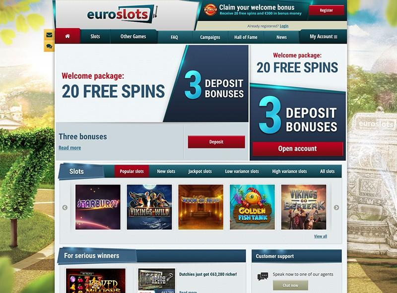 Euroslots Bonus