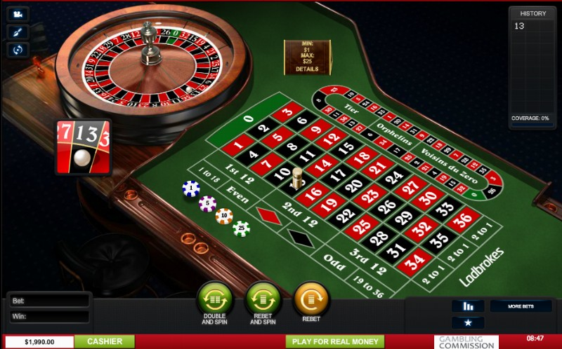 casino club online roulette