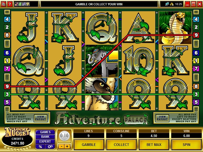 golden nugget online casino slot sizzling hot