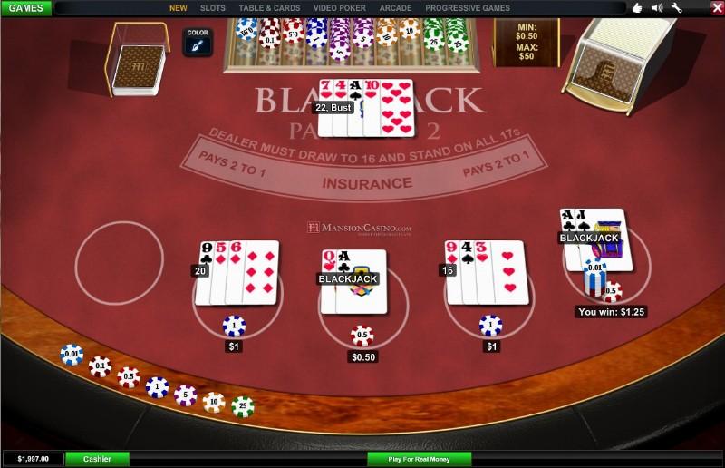 mansion online casino jetztspilen