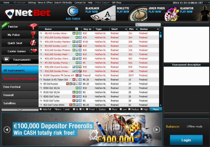 Netbet poker romania loto quebec casino lac leamy emploi