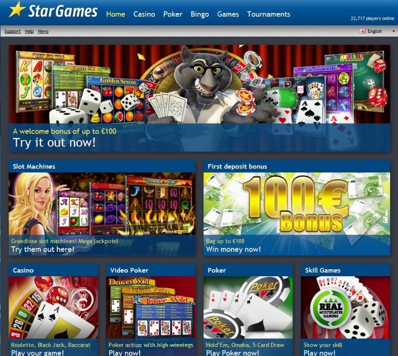 Stargames Sites