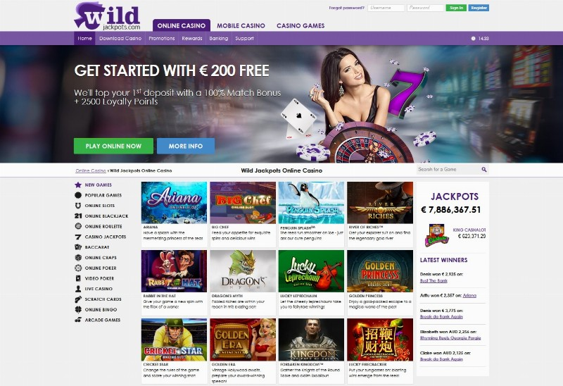 Wild Jackpots Casino Review – Is this A Scam/Site to Avoid