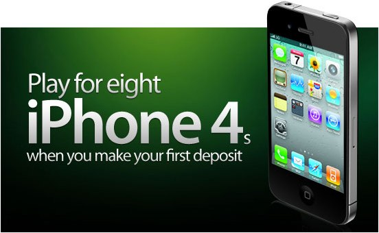 Win an iPhone 4 at Party Poker